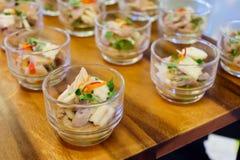 bocados del comida para comer con los dedos Fotografía de archivo libre de regalías