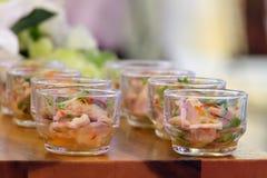 bocados del comida para comer con los dedos Imagen de archivo libre de regalías