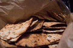 Bocados del pan fotografía de archivo