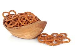 Bocados del pretzel Imagen de archivo libre de regalías