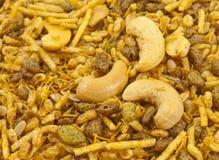 Bocados fritos indios del pulso Foto de archivo