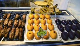 Bocados sanos de la patata dulce de Hunan, China fotografía de archivo