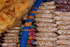Bocados vendidos en las calles en Zacatecas Foto de archivo