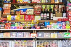 Bocados y caramelos coloridos Fotos de archivo libres de regalías