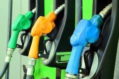 Bocais de combustível Fotografia de Stock