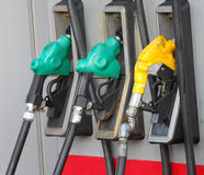 Bocais de gás Imagens de Stock Royalty Free