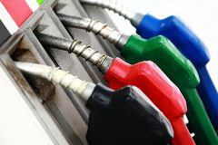 Bocais de gás Foto de Stock Royalty Free
