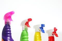Bocais dos detergentes Imagens de Stock