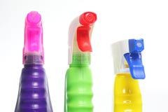 Bocais dos líquidos de limpeza Fotos de Stock