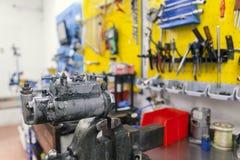 Bocais dos testes para os motores diesel Fotografia de Stock