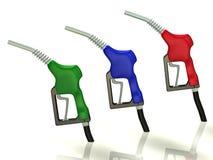 Bocal de gás ilustração stock