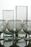 Bocal and wine glass Stock Photo