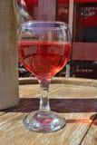 Bocal z winem Fotografia Stock