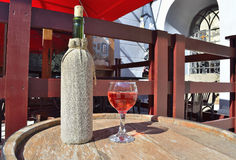 Bocal z winem Zdjęcie Royalty Free