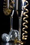 Bocals d'argento e decorazione tortuosa Fotografie Stock