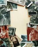 Bocas de la vendimia Fotos de archivo