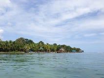 Bocas del Toro νησιά στοκ εικόνα