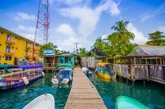Bocas Del Toro Панама стоковые фотографии rf