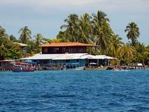 Bocas del Toro coast Stock Image