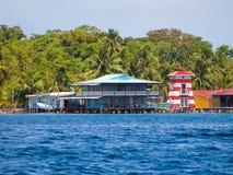Bocas del toro coastline Stock Image