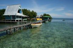 Bocas del Toro, eilanden in Panama royalty-vrije stock fotografie