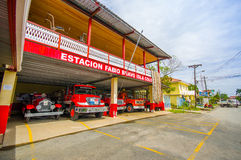 BOCAS DEL TORO, PANAMÁ - 23 DE ABRIL DE 2015: Fuego Imagen de archivo libre de regalías