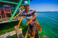 BOCAS DEL TORO, PANAMA - APRIL 24, 2015 : local Stock Photos