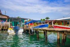 Bocas del Toro Panama stock image