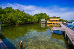 BOCAS DEL TORO, PANAMA - APRIL 23, 2015 : Wooden Royalty Free Stock Photography