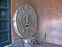 Bocca правды, Рима стоковые изображения