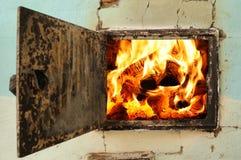 Bocca del forno Fotografie Stock Libere da Diritti