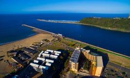 Bocca del porto Fotografia Stock
