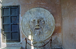 Bocca del Verita - Mouth of Truth, Rome, Italy Royalty Free Stock Images