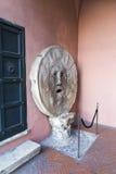 Bocca Della Verità. Mouth of truth - Bocca Della Verità - from Rome, Italy Stock Photos
