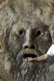 Bocca della Verita. The Mouth of Truth - lie detector Royalty Free Stock Photo