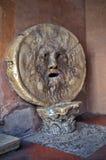 Bocca della Verita - the Mouth of Truth - landmark attraction in Rome, Italy. Bocca della Verita (the Mouth of Truth) - landmark attraction in Rome Royalty Free Stock Photography