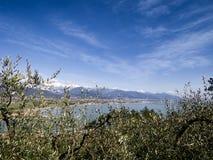 Bocca di Magra, punto di vista di Marinella Immagini Stock