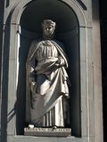 Boccaccio in the Niches of the Uffizi Colonnade, F Royalty Free Stock Images