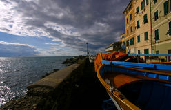 Boccadasse Royalty Free Stock Images