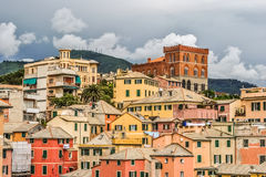 Boccadasse, Bezirk von Genua Stockfotos
