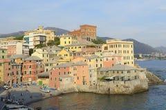 Boccadasse de Genoa Foto de Stock Royalty Free