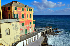 Boccadasse Genoa Royalty Free Stock Image