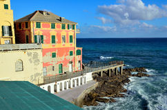 Boccadasse Genoa Royalty Free Stock Photography