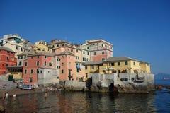 Boccadasse Genoa Italy Stock Image