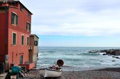 Boccadasse Genova fotografia stock