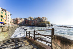 Boccadasse, Genova Royalty Free Stock Photo