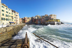 Boccadasse, Genova Stock Image