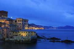 Boccadasse - old neighbourhood of the Italian city of Genoa Royalty Free Stock Photos