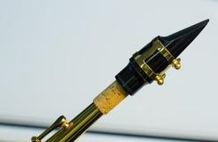 Boccaglio del sassofono Fotografia Stock Libera da Diritti