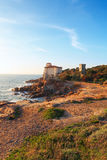 Boccale castle the sea near Livorno in Tuscany region Stock Photo